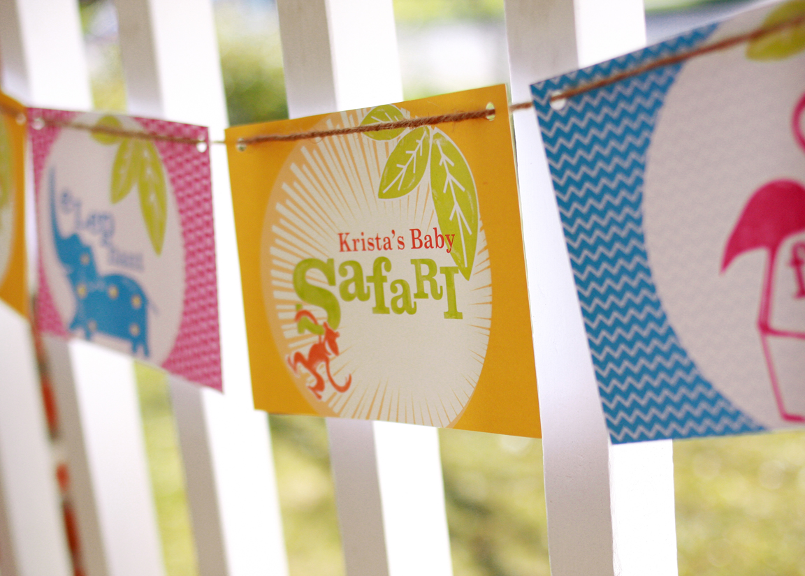 Safari Printable Party Paper And Cake Paper And Cake