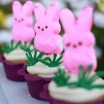 peep cupcakes