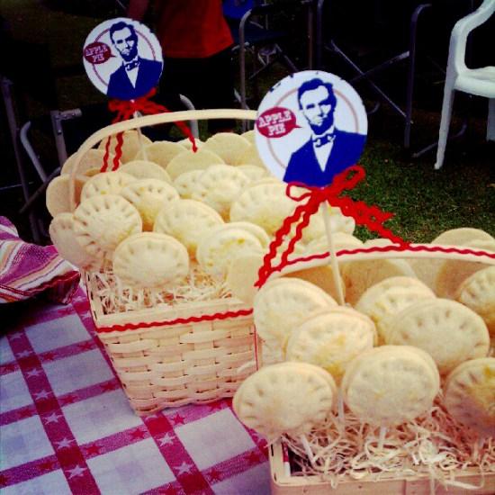 fourth of july, patriotic, cake balls