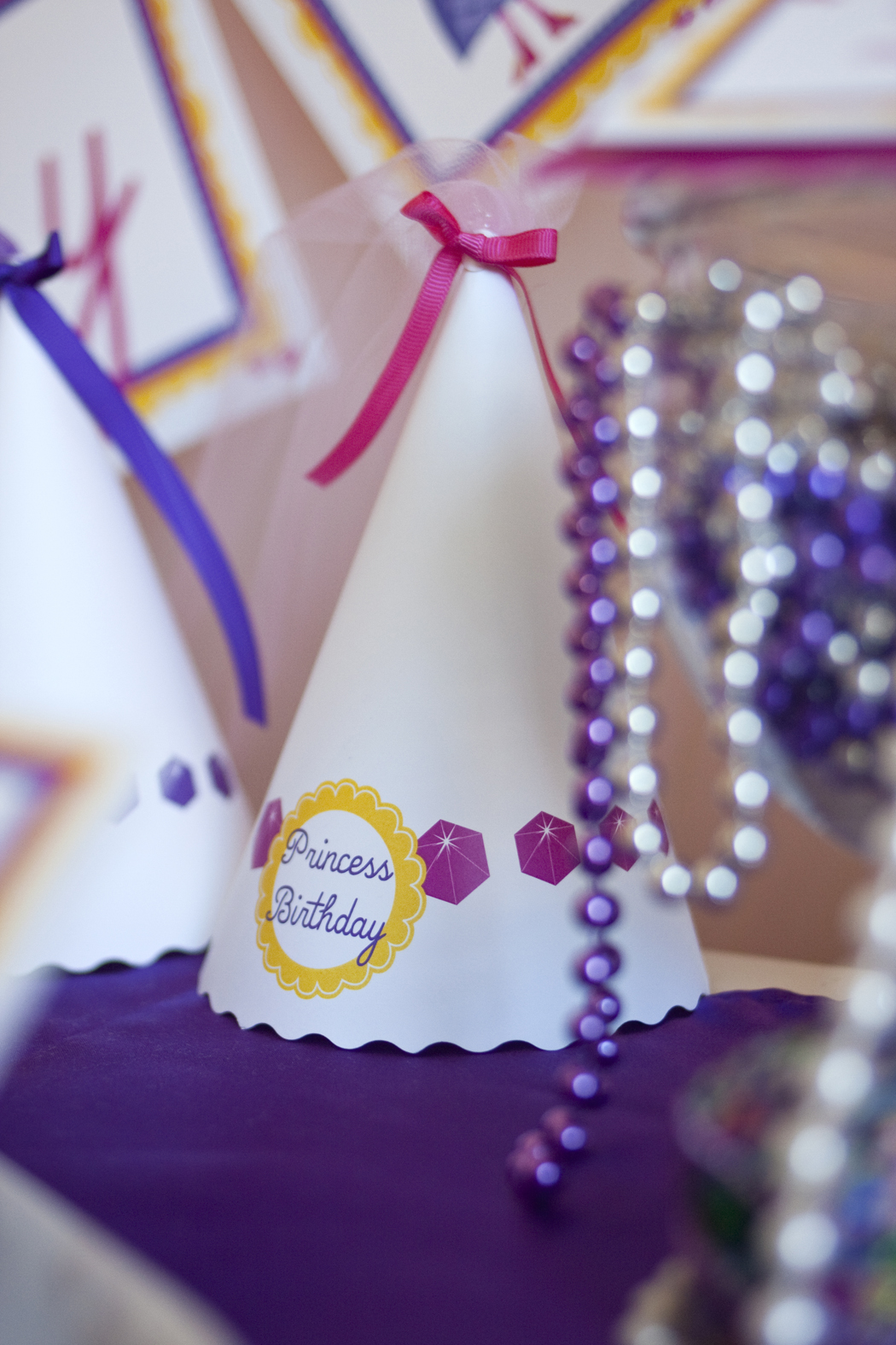 Princess Printable Birthday Party Paper And Cake Paper