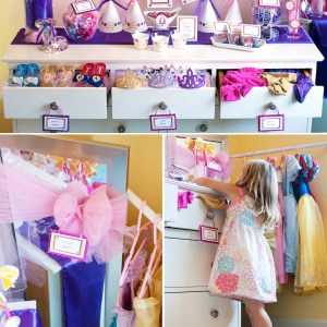 Princess Printable Birthday Party