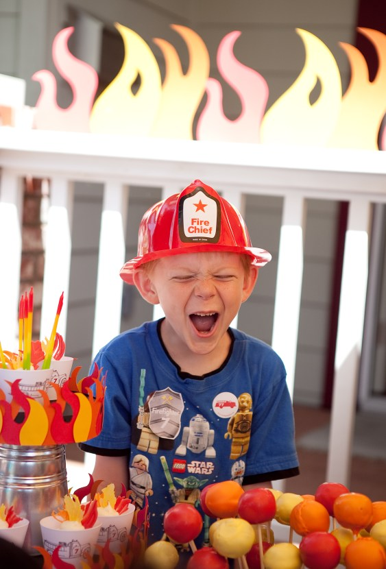 Fire Truck Firemen Printable Birthday party supplies and decorations