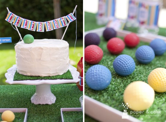 Printable Mod Stripe Birthday Party Decorations Download