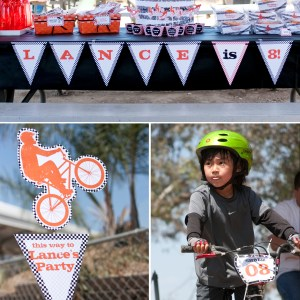 BMX printable party kit