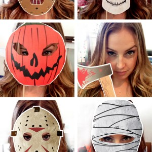 haunted horror movie printable photo props