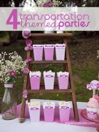 transportation birthday party ideas: party roundup - Paper ...