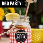 BBQ Printable Party