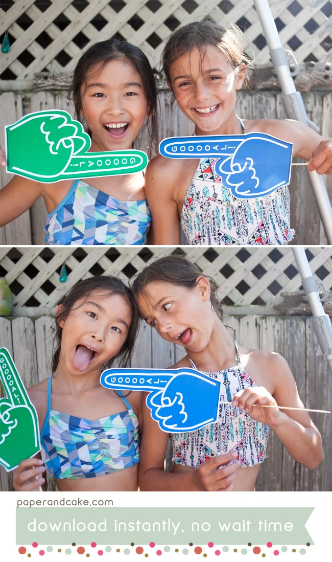 Soccer Printable Photo Booth Props