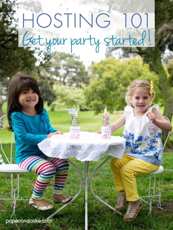 party hosting 101 etiquette