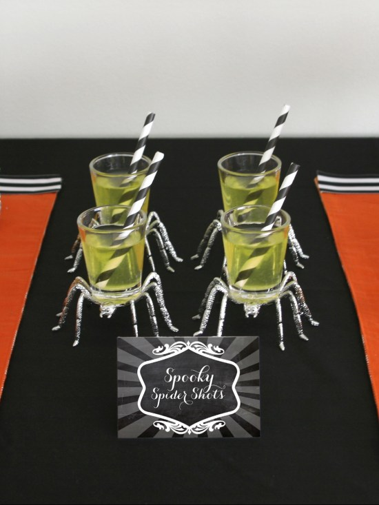 Chalkboard Printables for Halloween by paper and cake
