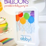 Balloon Printable Birthday Kit