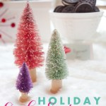 Retro Ornaments Christmas cookie exchange