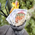 chalkboard pot easter basket