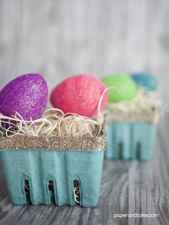 quick craft easter baskets