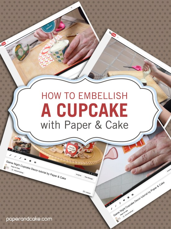 DIY Video Tutorial paper crafting by paper & cake