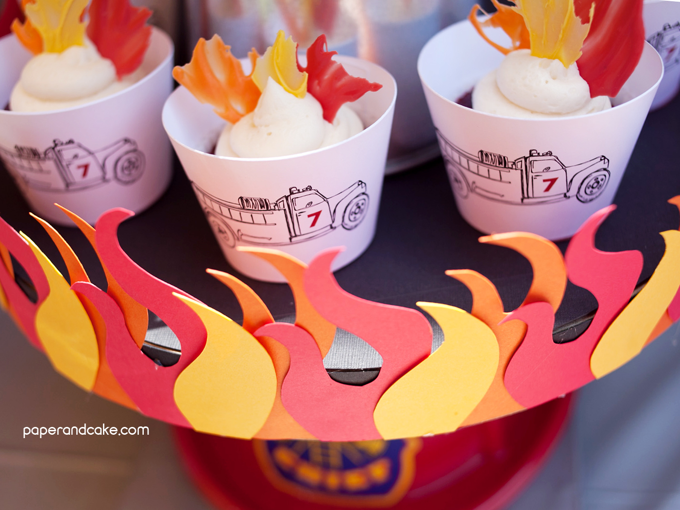 Printable Flames And Flame Templates Paper And Cake