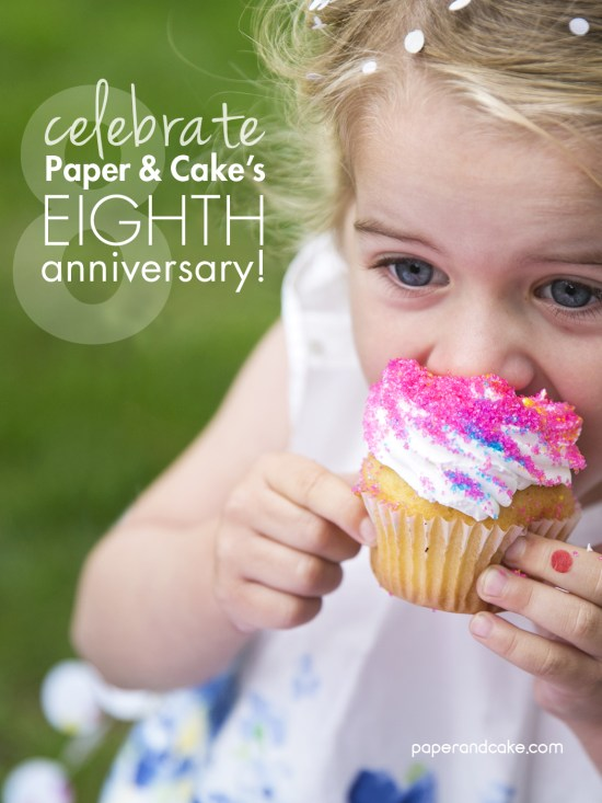 Eighth anniversary giveaway