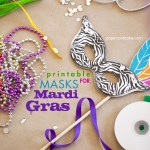 printable masks for mardi gras