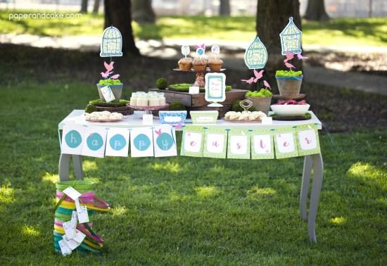 Garden Party printables for Easter