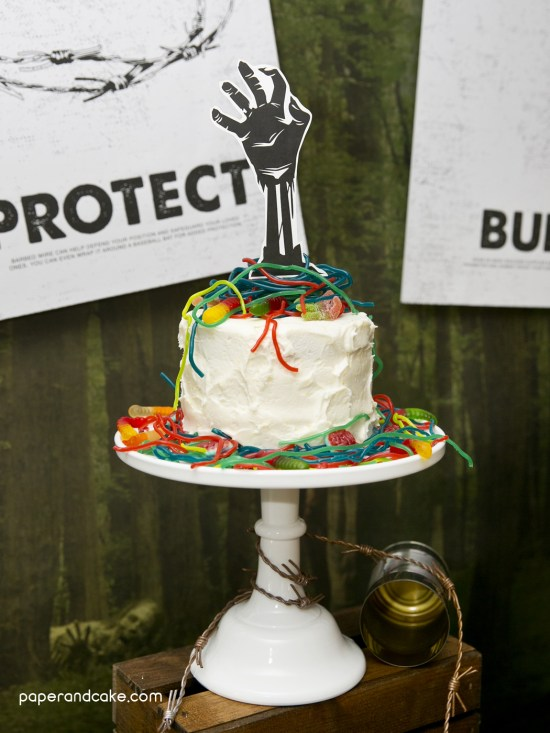DIY Zombie Birthday Party