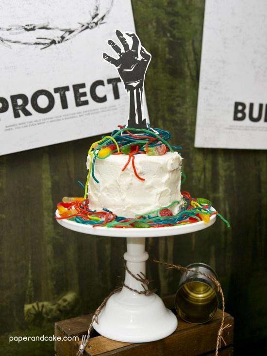 DIY Zombie Birthday Party