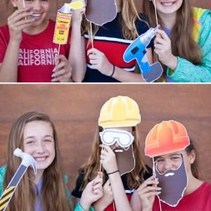 construction printable photo booth props