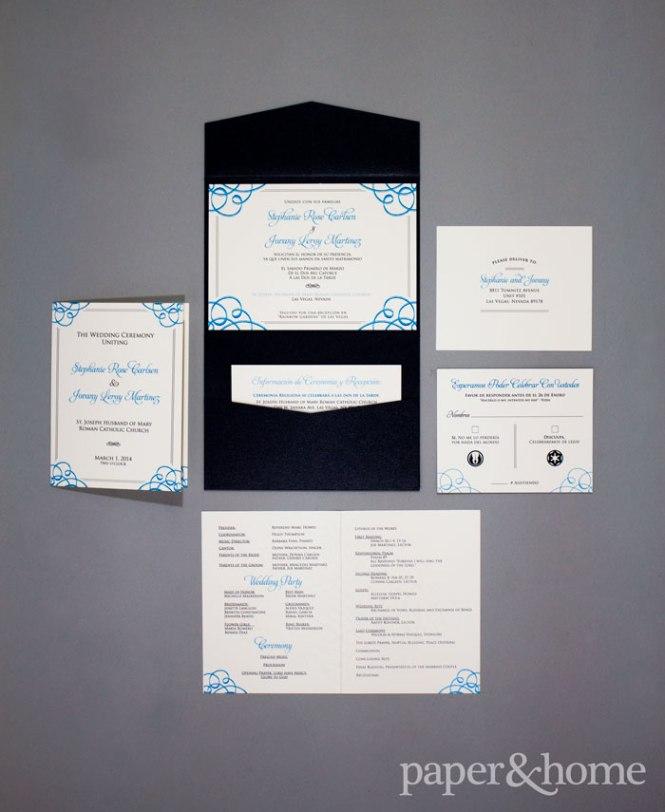 Star Wars Wedding Invitations Stephanie Jovany Paper