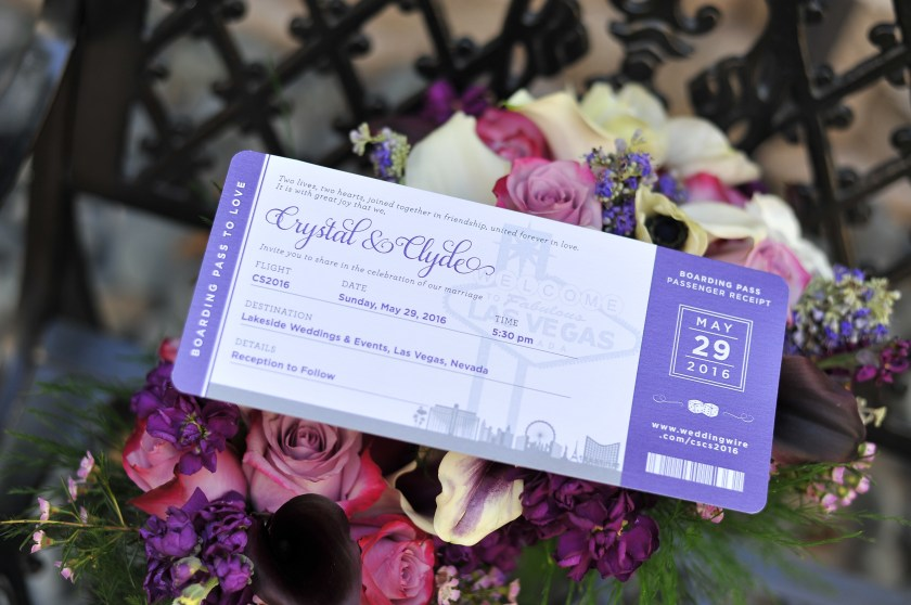 Boarding P Wedding Invitations