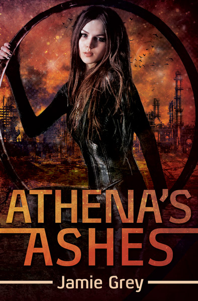Book Cover for Athena's Ashes by Jamie Grey