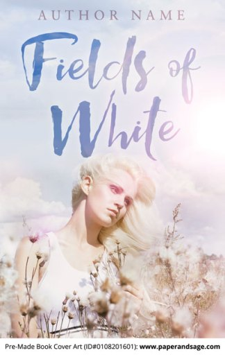 Pre-Made Book Cover ID#0108201601 (Fields of White)