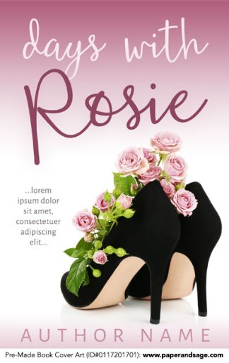 Pre-Made Book Cover ID#0117201701 (Days with Rosie)