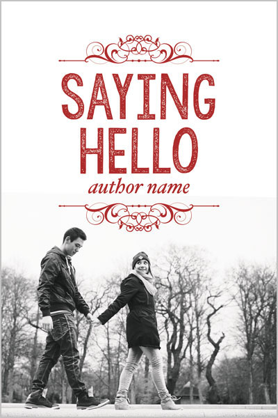 Pre-Made Book Cover ID#0123201502 (Saying Hello)