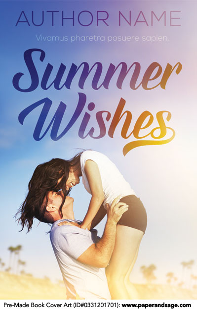 Pre-Made Book Cover ID#0331201701 (Summer Wishes)
