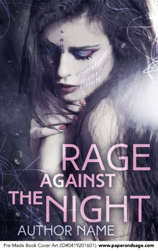Pre-Made Book Cover ID#0419201601 (Rage Against the Night)