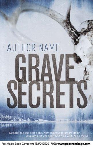 Pre-Made Book Cover ID#0425201702 (Grave Secrets)