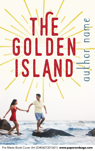 Pre-Made Book Cover ID#0607201601 (The Golden Island)