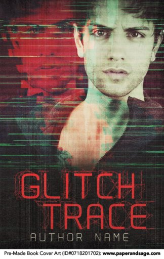 Pre-Made Book Cover ID#0718201702 (Glitch Trace)