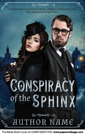 Pre-Made Book Cover ID#0728201703 (Conspiracy of the Sphinx)