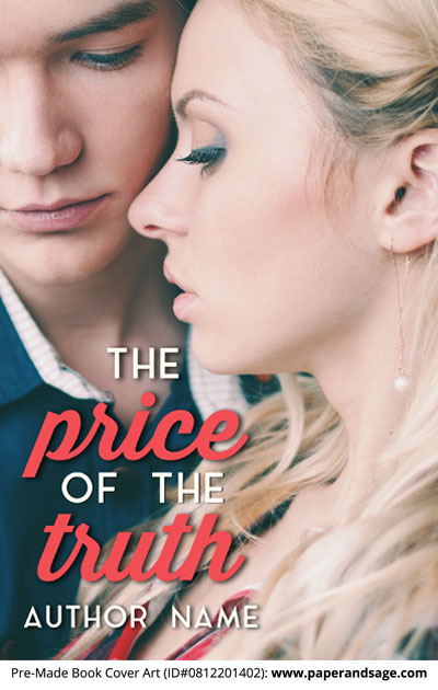 Pre-Made Book Cover ID#0812201402 (The Price of the Truth)