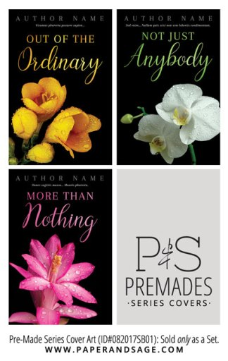 PreMade Series Covers ID#082017SB01 (Out of the Ordinary Trilogy, Only Sold as a Set)