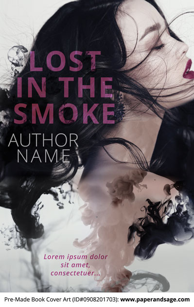 Pre-Made Book Cover ID#0908201703 (Lost in the Smoke)