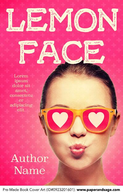Pre-Made Book Cover ID#0923201601 (Lemon Face)