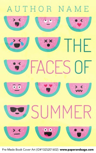 Pre-Made Book Cover ID#1025201602 (The Faces of Summer)