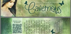 Add-On Example: Bookmark for Cavernous (Front & Back, 2×8″)