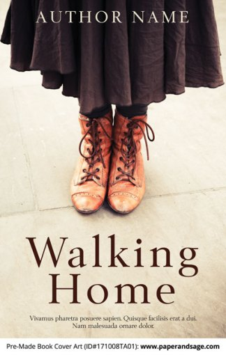 Pre-Made Book Cover ID#171008TA01 (Walking Home)