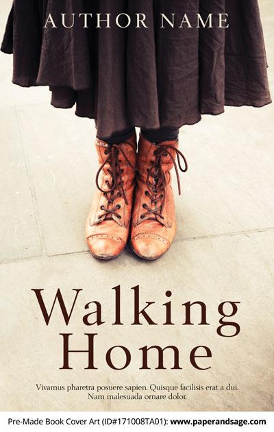 Pre-Made Book Cover ID#171008TA01 (Walking Home)