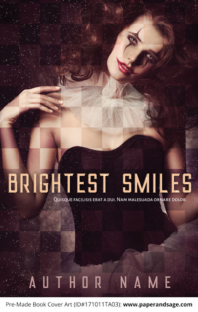 Pre-Made Book Cover ID#171011TA03 (Brightest Smiles)