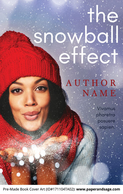 Pre-Made Book Cover ID#171104TA02 (The Snowball Effect)