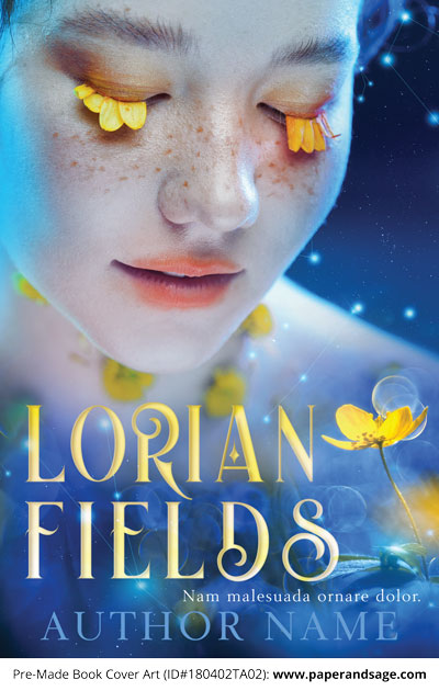 Pre-Made Book Cover ID#180402TA02 (Lorian Fields)