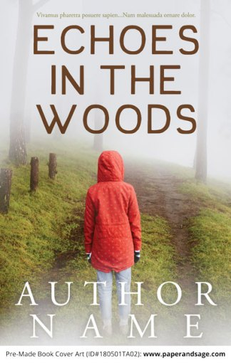 Pre-Made Book Cover ID#180501TA02 (Echoes in the Woods)